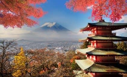 Japan, Land der Gärten zur Herbstfärbung