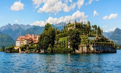 Blütenmeer am Lago Maggiore, Comer See und Gardasee