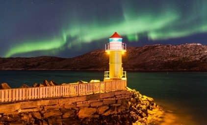 Wintermärchen & Nordlicht auf den Lofoten