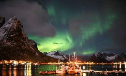 Wintermärchen & Nordlicht - Lofoten