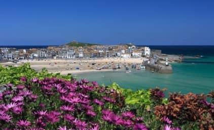 Cornwall zur Sommerblüte