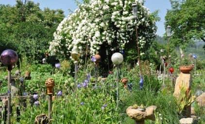 Privatgartenreise Steiermark - vielen Dank für die Blumen