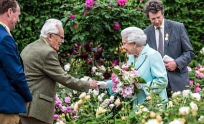 Chelsea Flower Show mit Privatgärten