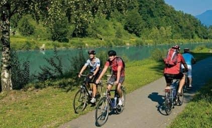 3 Flüsse Tour - Radeln in Kärnten