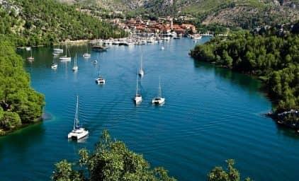 Inselhüpfen in Süddalmatien, Kroatien