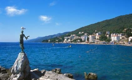 Nordic Walking an der Riviera Opatija