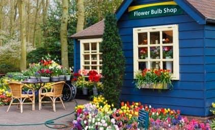 Hollands Gartenschmuckstücke