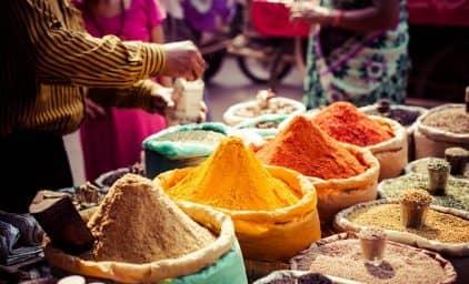 Tee- und Gewürzparadies Indien