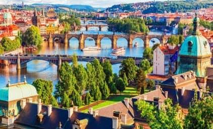 Prag - Fürstliche Gärten & Paläste
