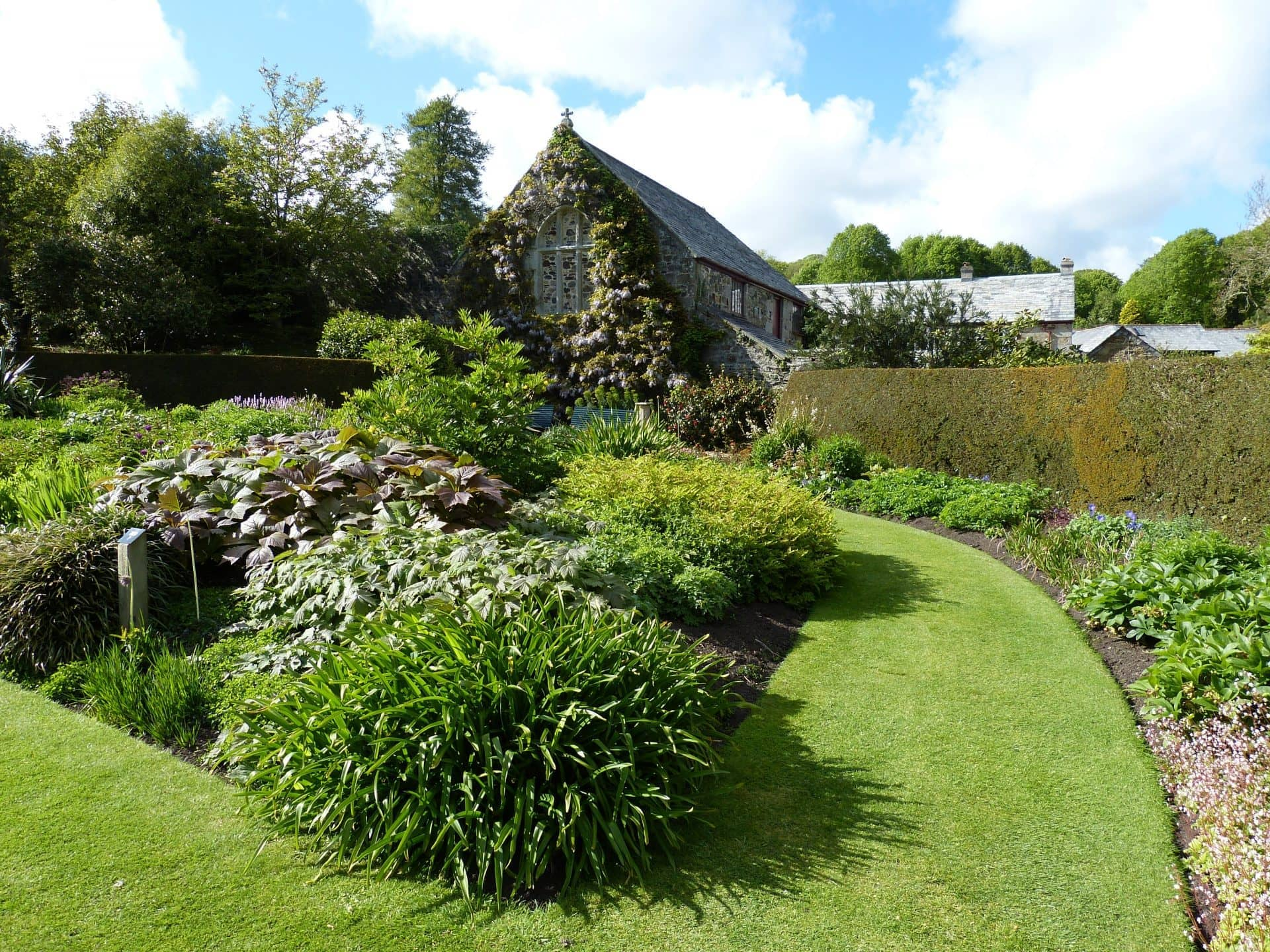Romantische gartenreise durch cornwall mit oliva for Gardening jobs cornwall