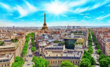 Frühling in Paris und Île-de-France
