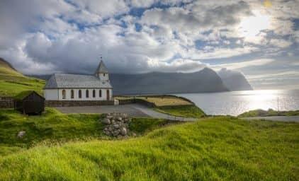 Landschaftskino auf den Färöer-Inseln