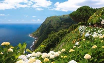 Azoren, ein tropisches Naturparadies