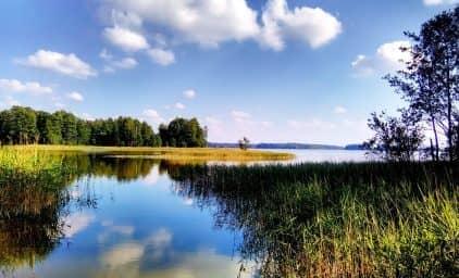 Wanderung durch die Masurische Seenplatte, Polen