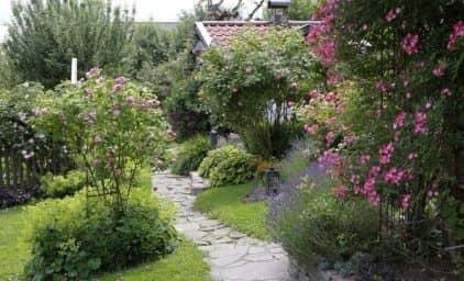 Rosenreise durch bayrische Gärten