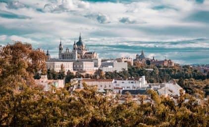 Madrid, königliche Gärten