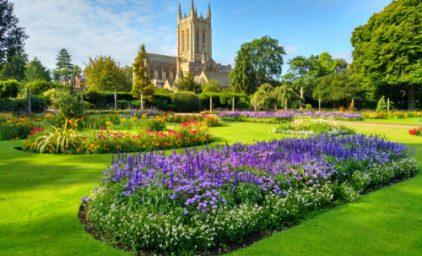 Fest der Rosen in Nordost-England